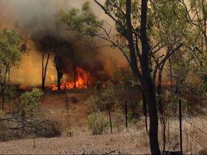 Malchi Nine Mile large grassfire