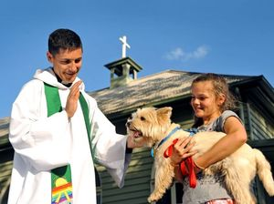 Pets, children blessed with activities at Warwick church