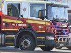 Emergency Services, QFES, Fire, Fire truck, Fire & Rescue Photo Bev Lacey / The Chronicle