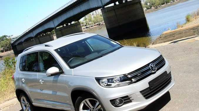 All new Volkswagen Tiguan 130TDI R-Line, exclusive to Rockhampton Prestige. Photo Tamara MacKenzie / The Morning Bulletin