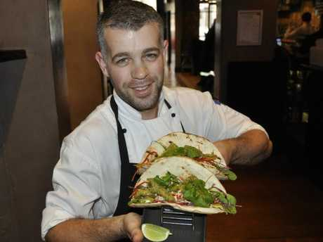 TOP JOB: Tapestry chef Tim Griffin enjoys the progression of the industry. Photo Charlotte Lam / The Chronicle
