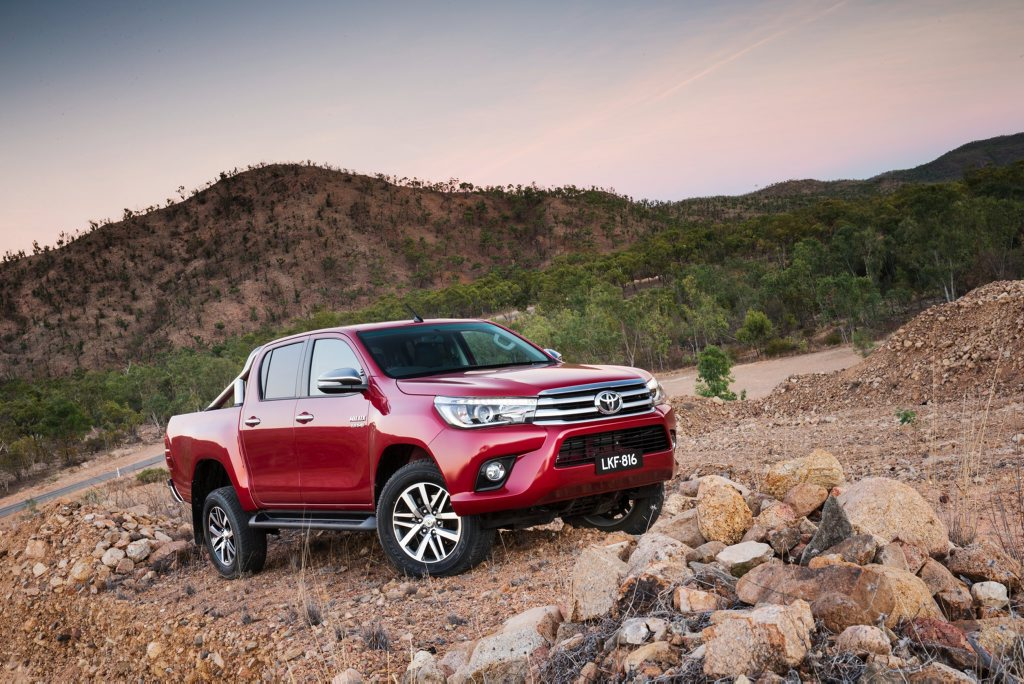 TOUGH COMPETITION: VW hopes to claw away some sales from market leaders such as Toyota's HiLux