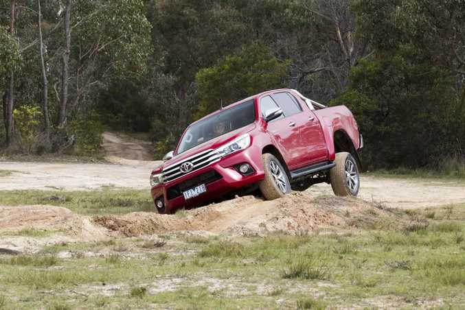 2015 Toyota Hilux. Photo: Contributed