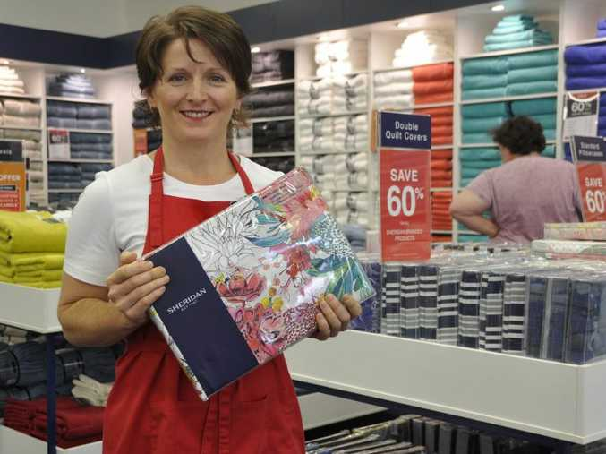 Leanne Smith is the store manager of the new Sheridan outlet. Photo Kate Dodd / The Chronicle