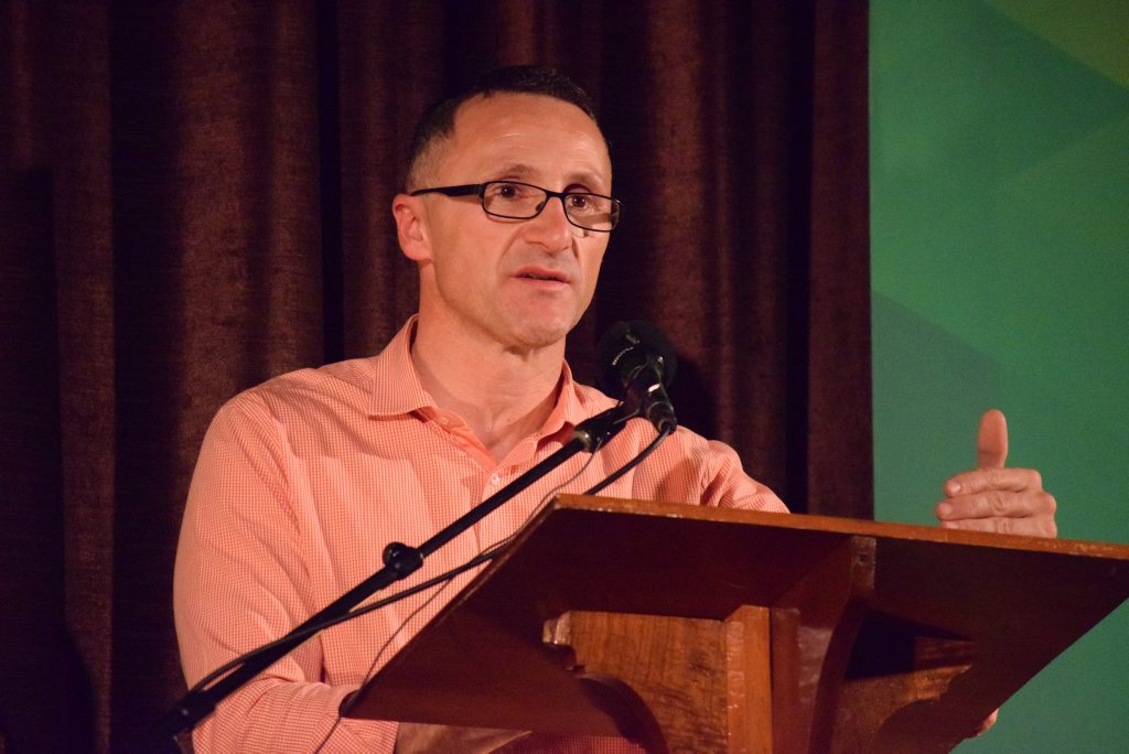 Federal Greens Leader Richard Di Natale