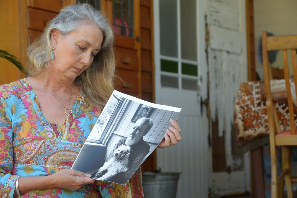 CLOSE TO HOME: Cynthia Hoogstraten is a dementia advocate. Her father has dementia. She now researches the subject intensely. Photo: Max Fleet / NewsMail