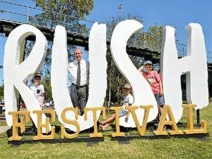 Full steam ahead for Gympie's month-long Rush Festival