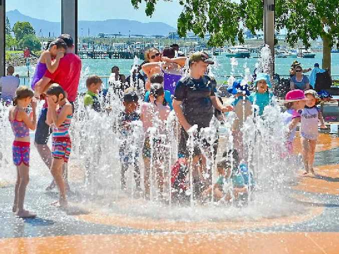 BEATING THE HEAT: It's going to be a hot summer. Best place to be is under the water at East Shores (above), or at the pool.