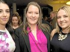 STYLE: Enjoying the City Heart Fashion Event are (from left) Bec Roosen, Emma Robinson and Narjia Brownlie.