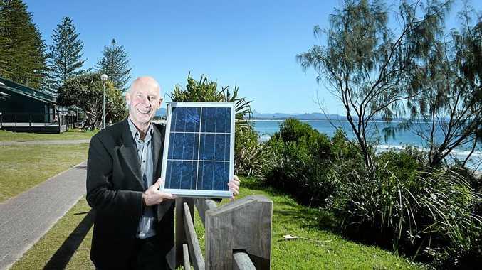 Steven Harris, CEO Enova energy, in Byron Bay.