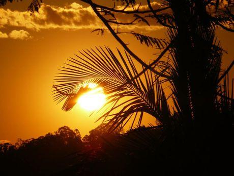 The last sunset of September.