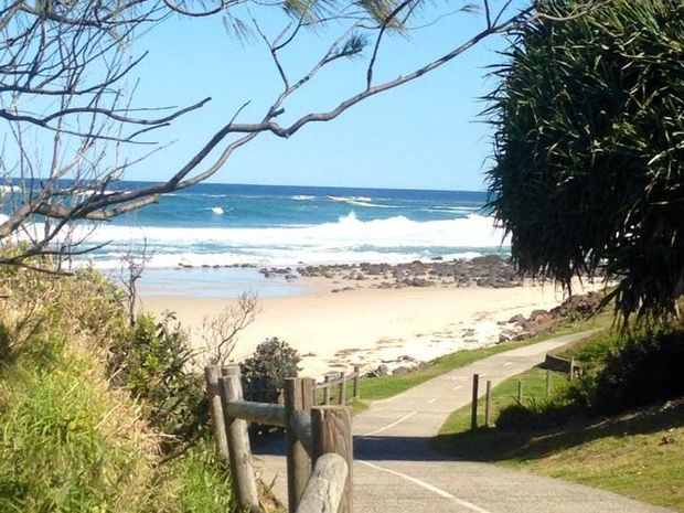 Beautiful Shelly Beach Ballina