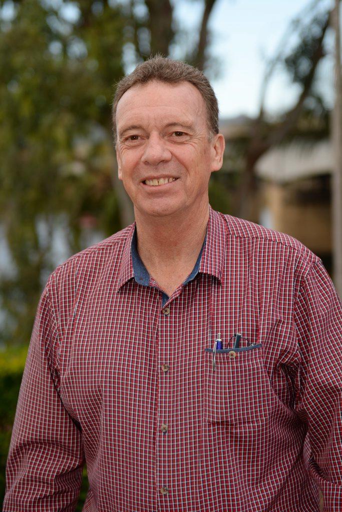 Team McMillan: Bob Pleash. Photo Allan Reinikka / The Morning Bulletin
