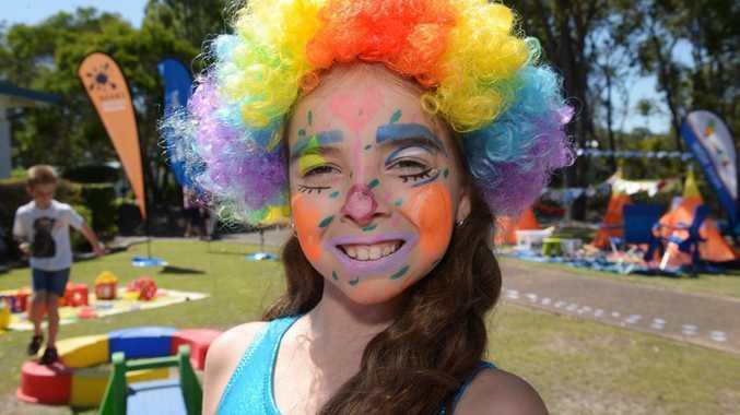 KID'S DAY: Lara Mackey at the Carinbundi Kids Crush Day Workshops, held at CQUniversity on Saturday 3 October 2015. Photo: Max Fleet / NewsMail