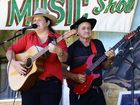 Performers at the Noel Williams Country Music Memorial Festival held at the Peak Pub on Saturday.