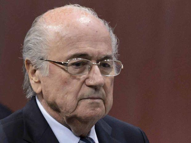 HARD TO SHIFT: FIFA president Sepp Blatter and UEFA president Michel Platini have both been under the spotlight.