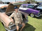 Record entries with 242 cars at vibrant All Holden Day