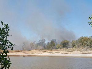 UPDATE: Fire crews contain blaze burning in Point Vernon