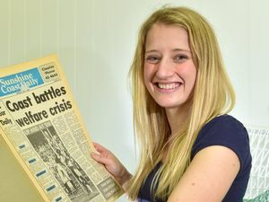 Roving reporter: Sophie keen to hear from Buderim locals