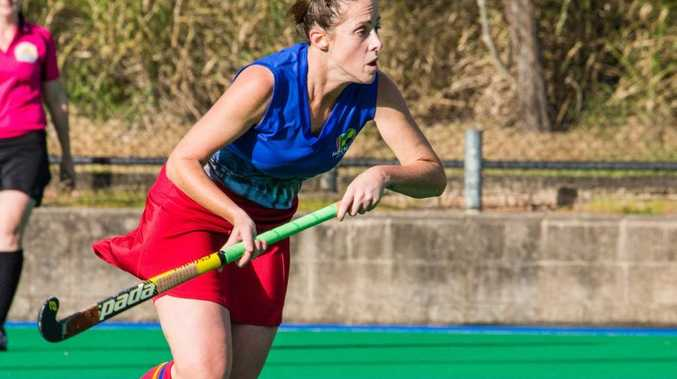 SHE'S BACK: After a five year absence from the national competition, Mackay hockey product Jane Bennett will return this weekend.