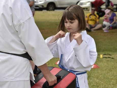 Your kids can have fun and learn discipline at Sharpe Kids Karate.