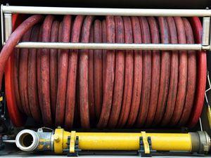Fire crews called to extinguish burning log