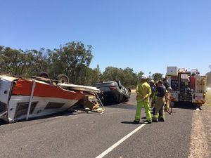 Isis Hwy rollover