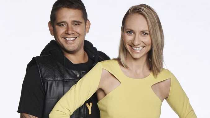 The Block contestants Kingi and Caro.