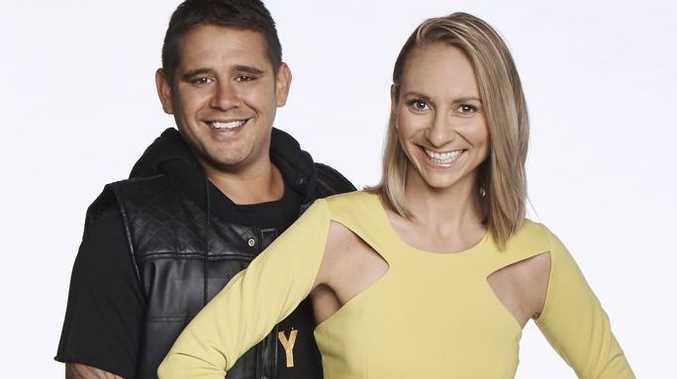 The Block contestants Kingi and Caro.
