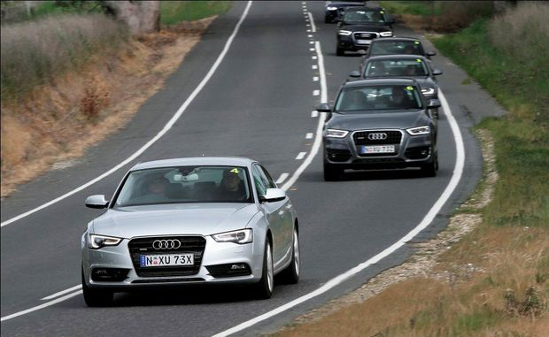 CEASED SALES: Audi diesels pulled from sale are the A4, A5 and Q5 2.0 TDI models