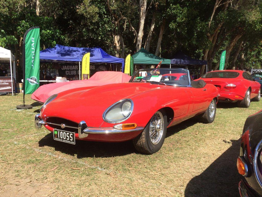 1967 Jaguar E-Type Series 1 4.2 at the 2015 Noosa Beach Classic Car Show. Photo: Iain Curry / Sunshine Coast Daily