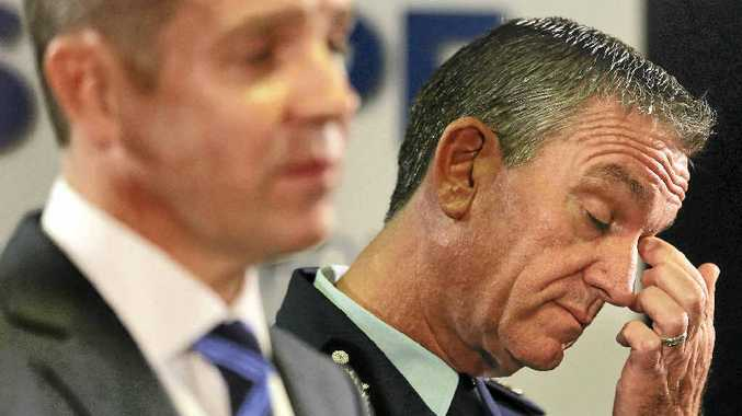 THANKS: A reader has paid tribute to police after watching NSW Premier Mike Baird and Police Commissioner Andrew Scipione speak about the shooting outside police headquarters in Sydney.