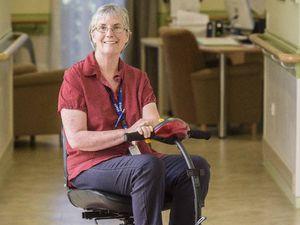 Inspiring MS nurse a national finalist