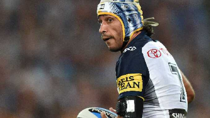 GREAT PLAYER: Johnathan Thurston of the Cowboys during the NRL grand final against the Brisbane Broncos.