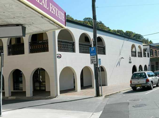 The old Australian Hotel building on Commercial Rd, Murwillumbah is now home to a retail shop after being closed and vacant for several years.