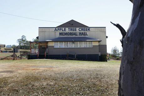 MEMORIAL HALL: The Memorial Hall at Apple Tree Creek. Photo: Simon Young / NewsMail