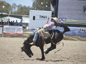 We're along for the ride at Warwick Rodeo