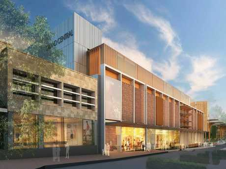 An artist impression QIC's Grand Central redevelopment.