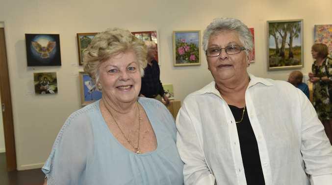 Joan Chessner (left) and Barbara Matthews.