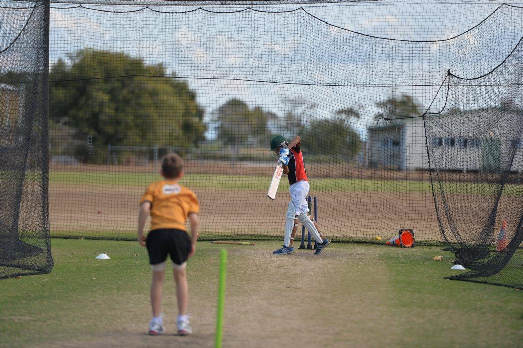 CRICKET: Bevan Rickard training for the under-12 Mackay Whitsunday representative team. Photo Chris Lees / Daily Mercury
