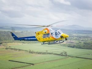 Woman's arm caught in boat rotor, airlifted to Townsville