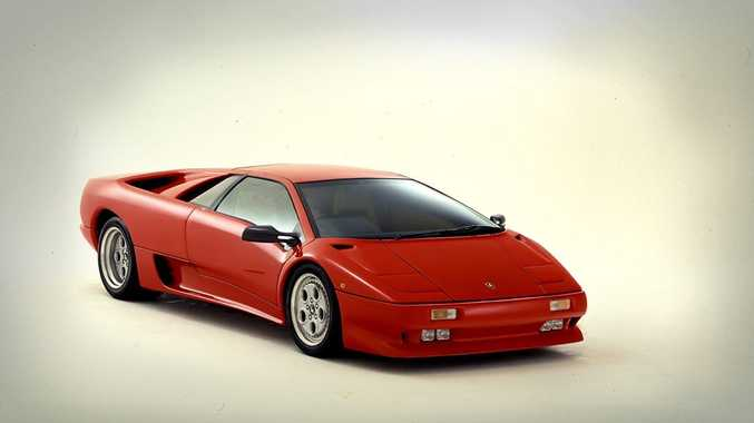 DREAM MACHINE: Greg says his dream car is a Lamborghini Diablo.
