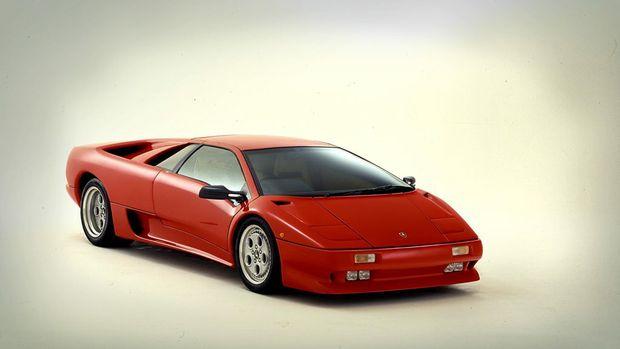 DREAM MACHINE: Greg says his dream car is a Lamborghini Diablo.