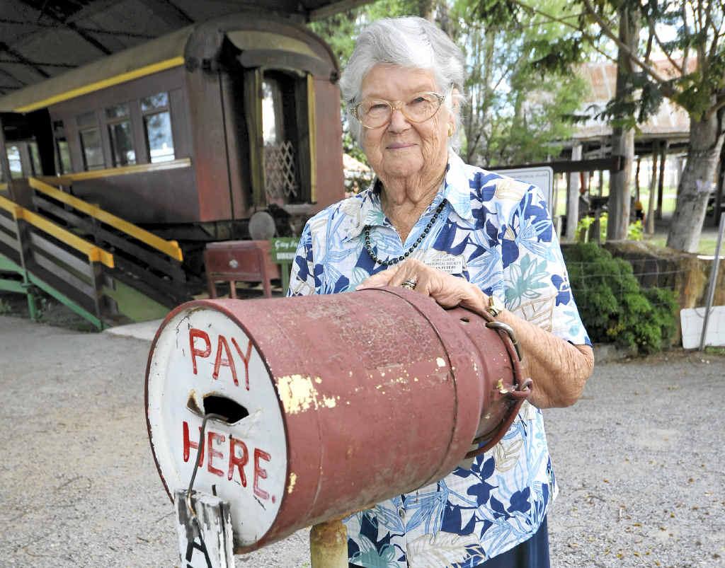 The Mt Larcom Show has a big part of Jean Peters' life since 1953.