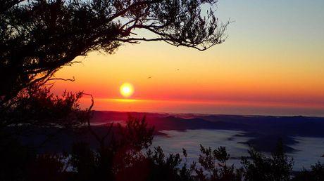 Mt Warning sunrise.
