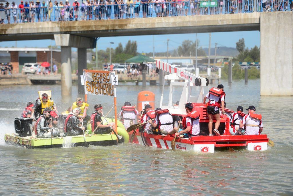 2013 Gladstone Harbour Festival, NRG Great Raft Race.