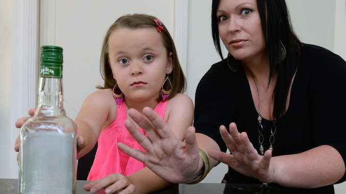 OCSOBER: Jordan Darby and her mother Kara James. Photo: Mike Knott / NewsMail