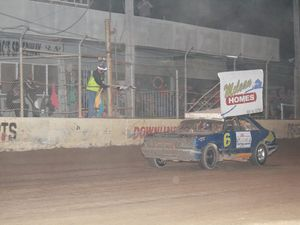 Out-of-towners win at the speedway