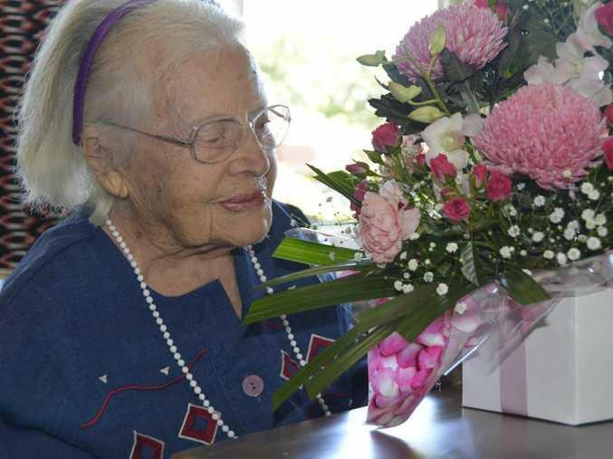 Leila Scott celebrated her 102nd birthday on October 3. Photo Kate Dodd / The Chronicle