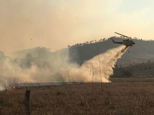 Shed damaged, house saved in fire south of Toowoomba